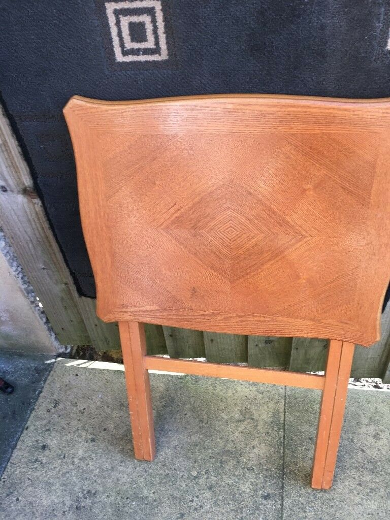 Fold Up Occasional Small Square Table 10