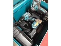 Makita Lxt, impact driver and drill set with 2 5.0ah 18v lithium batteries