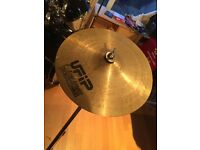 "10"" ufip cymbal good condition"
