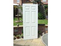 DOORS 4 xWHITE GLOSS PAINTED INTERNAL DOORS