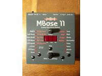 Jomox Mbase 11 - analog analogue kick bass drum synth synthesiser