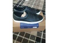 Jack wills real leather trainer