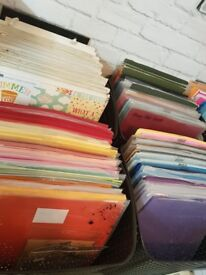 Scrapbook Supplies Due To Shop Closure Stock Start A New Business