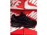 Air Max 95s and Air Max 90s For Sale. 5 different colours. Clearance Sale NOW ON £50.Grab A Bargain
