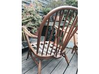 Vintage Ercol chairs x 2