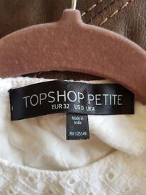Topshop summer dress, size 4