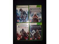 Xbox 360 - Assassins Creed (1-4 pack)