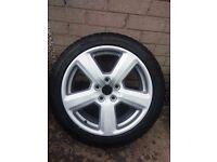 "Set of 4 Audi/VW/Seat/Skoda 17"" inch alloy wheels/rims"
