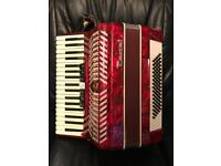 Parrot Piano Keyed Accordion