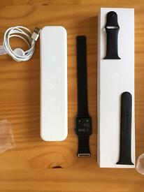 Apple Watch 42mm with Leather Loop and Sports Band