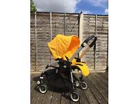 Bugaboo Bee, Maxi-Cosi CabrioFix Car Seat, Maxi-Cosi Car Seat Adapters & BabyBjörn Baby Carrier