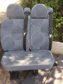 Transit mk7 double seat