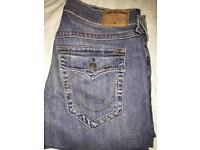 Men's True Religion Ricky Relaxed-Straight-Fit Jeans RRP £275.99