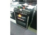 New World 601DFDOL Double Dual Fuel Cooker-Stainless Steel