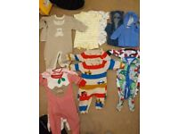 Bundle of designer clothes for twin boys