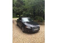 AUDI A4 S LINE CONVERTABLE IN BLACK , NEW ALLOYS, FULL SERVICE, MOT , SELLING DUE TO NEW COMPANY CAR