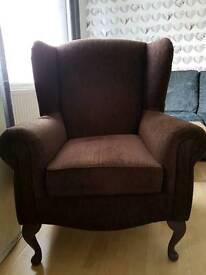 Queen Ann arm chair