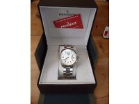 PEUGEOT GENTS TOP QUALITY WATCH BOXED UNUSED see details