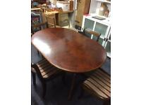 Table & Chairs/Record Cabinet ***BUNDLE OFFER*** £40