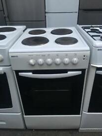 BEKO free standing electric cooker 50 cm Width single Cavity in perfect Working Order