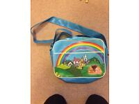 Rainbow Themed Vintage Style Messenger Bag - Will Deliver