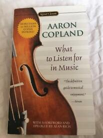 Aaron Copeland 'What to listen for in Music' (2002)