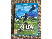 Wii U Zelda Breath of the wild nintendo