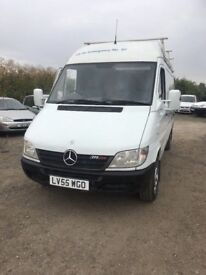 2006 AUTOMATIC MERCEDES SPRINTER 311CDI WMB VAN GOOD VAN ALROUND READY FOR WORK MOT ANY TRIAL