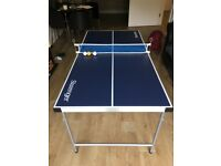 Collapsible 5ft table tennis table