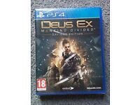Deus ex -new & sealed-