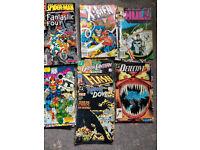 Vintage Comic Books 1989-1992