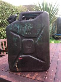 Army 1945 jerry can