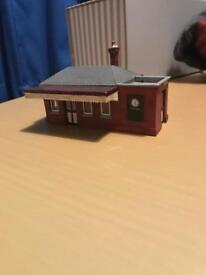 OO gauge Skaledale Station Building