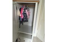 Adorable Mini Wardrobe & Maching Changing Table/shelf unit
