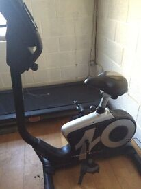 NORDIC TRACK EXERCISE BIKE (used for 10 minutes!)