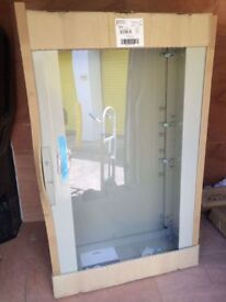 Large electrical outdoor glazed storage box by Schneider electric