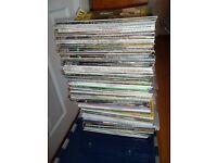 113 Wisden Magazines, 15 Cricketer Magazines & 3 Cricket Magazines