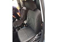 VW SHARAN, LEATHER LIKE SEAT COVERS, MADE TO MEASURE BY CSC!!!