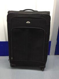 SAMSONITE 4wheels black large suitcase (75cm height)