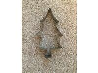 Large Christmas tree cutter 50p