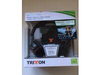 Triton Wireless Xbox Headset (Headphones & Microphone)
