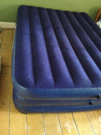 Bargain double inflatable mattress
