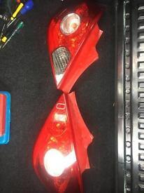 Corsa D 2014 rear lights
