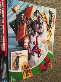Spiderman rampage set