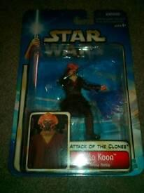 "Star wars "" Plo Koon"" Collector's Item Figure. £10.00. Can post!"