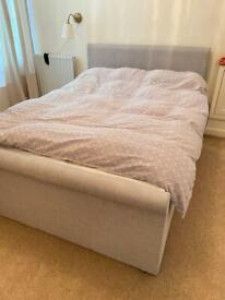 Ottoman bed frame double sized