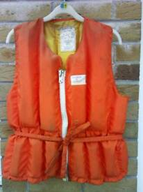 Buoyancy aid life jacket