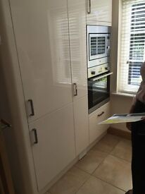 Howdens fitted Kitchen with appliances. 18 month old