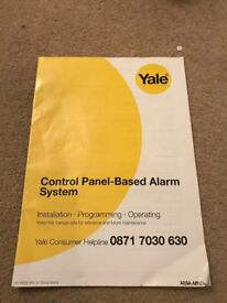 Yale Control Panel-Based Alarm System Installation- Programming Operating Manual