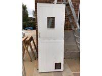 Stable Style Back Door, Reclaimed